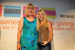 Piquet Sports' Rebecca Banks collects Best Team Communications