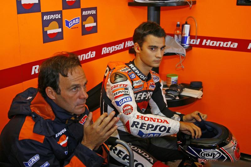 Alberto Puig y Dani Pedrosa la temporada del debut en MotoGP