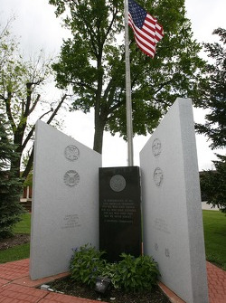 Monument in Lexington