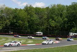 Tom Pank leads a group of cars