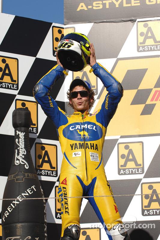 Podio: Valentino Rossi