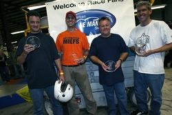 Course de karting des Motorsports Ministries