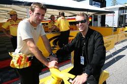 Romain Dumas and Timo Bernhard