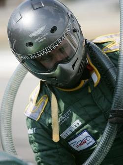Aston Martin Racing team member