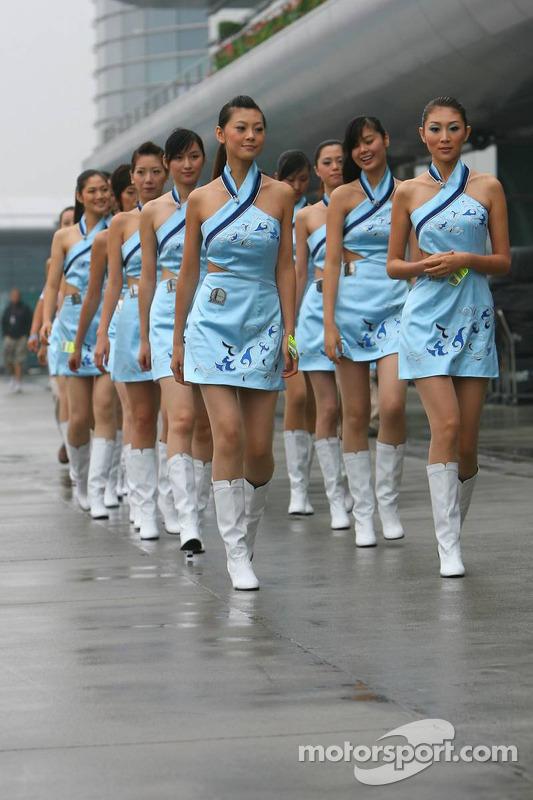 Chicas de parrilla