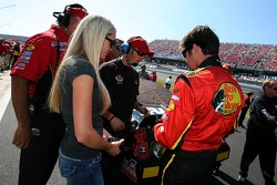 Martin Truex Jr. with his girlfriend