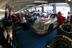 Coors Light Dodge garage area