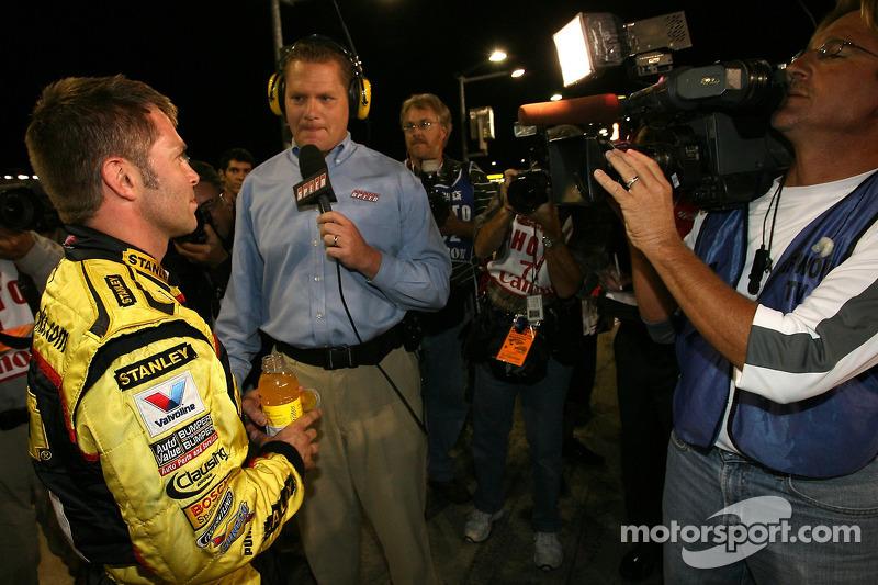 Scott Riggs en pole position