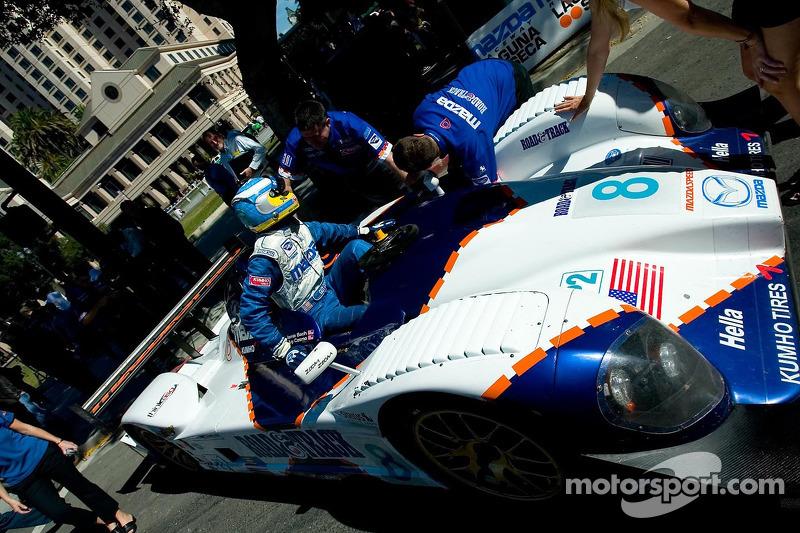 Guy Cosmo dans la Mazda Courage C65 #8 de LMP2