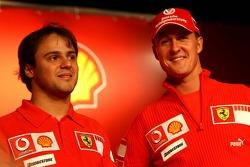 Михаэль Шумахер и Фелипе Масса, Ferrari