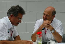 Dr. Mario Theissen and Peter Sauber