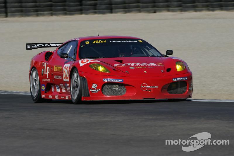 Ferrari 430 GT Berlinetta n°62 du Risi Competizione : Stephane Ortelli, Mika Salo