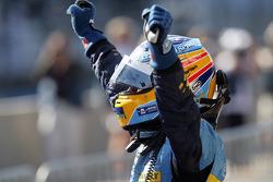 Fernando Alonso, campeón del mundo de F1 2006