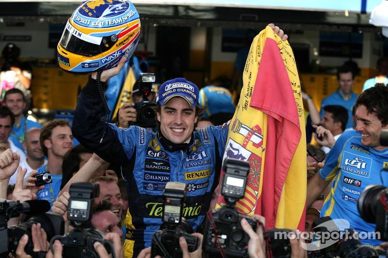 2006: Último título mundial de Fernando Alonso