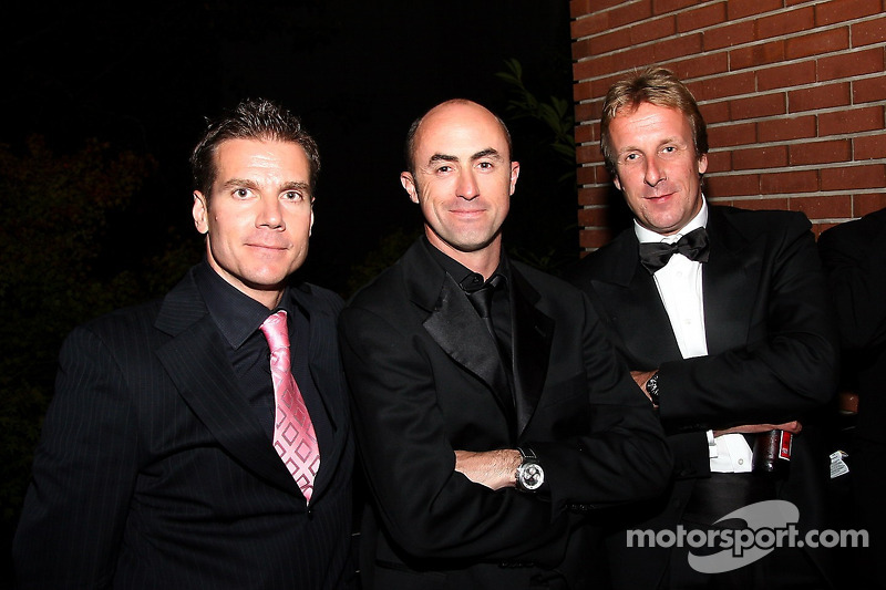 David Brabham et Frank Biela