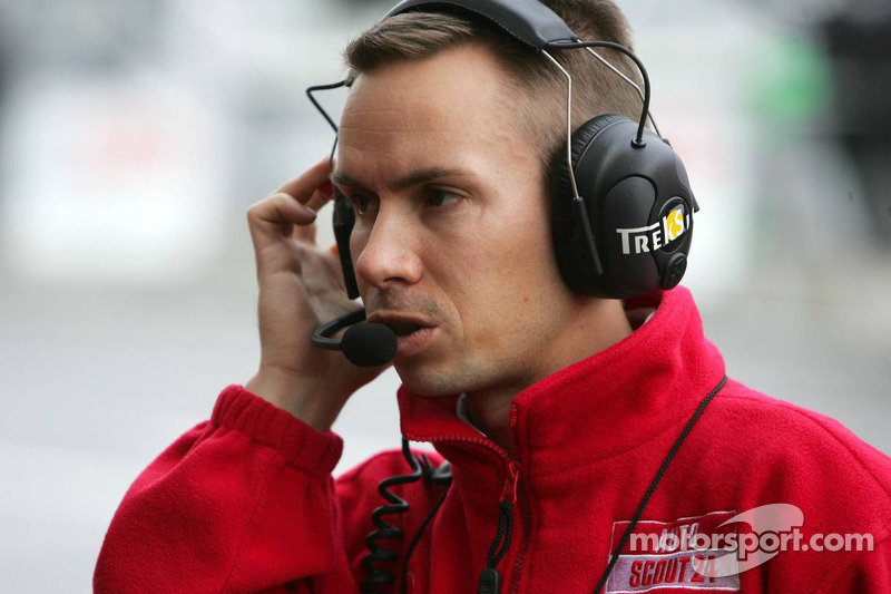 James Goodfield, ingénieur de course de Susie Stoddart