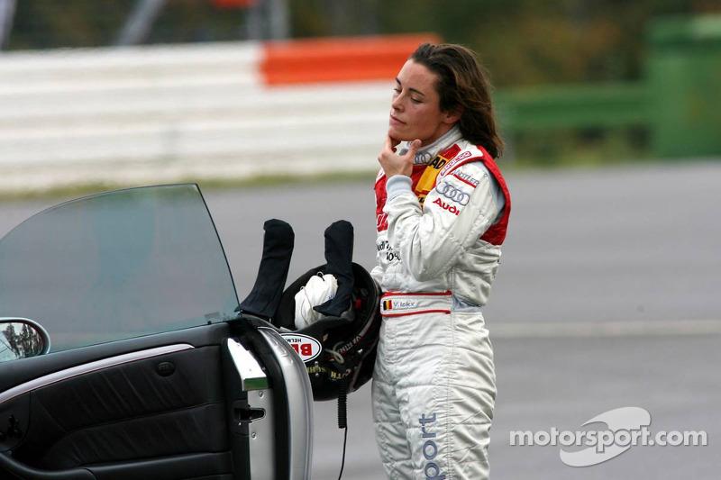 Vanina Ickx après son accident