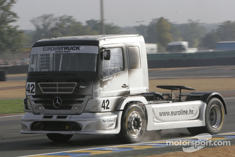 Euroline Truck Racing Team Mercedes Benz n°42 : Jochen Mass