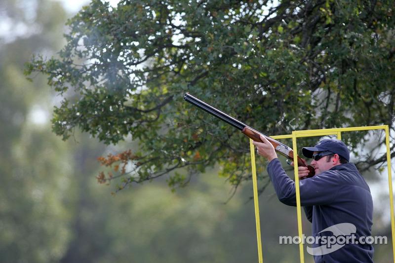 Beretta Celebrity Clay Shoot au Ranch Circle T à Fort Worth au Texas : Scott Wimmer