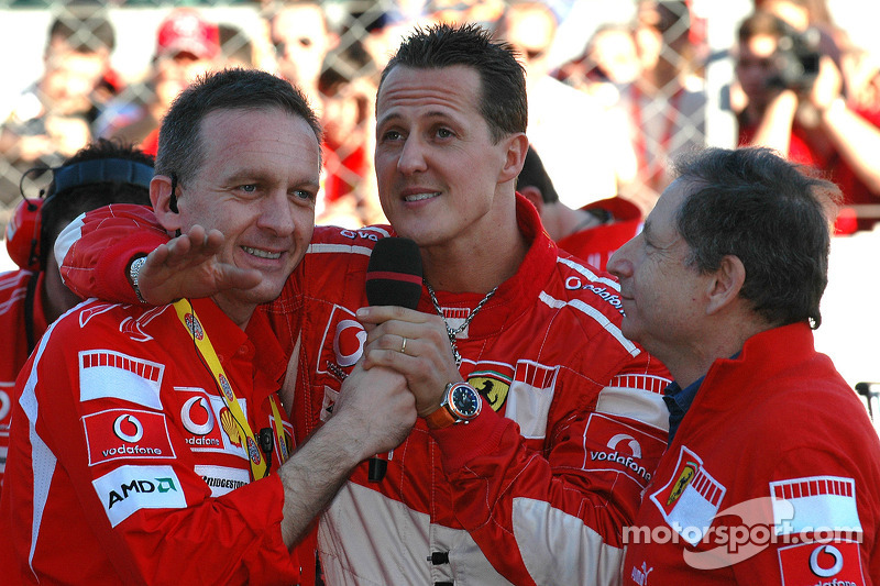 Michael Schumacher ve Jean Todt
