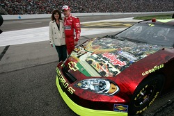 Terry Labonte and his wife Kim pose for a photo
