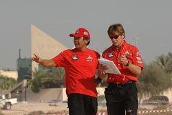 Hiroshi Masuoka et Pascal Maimon