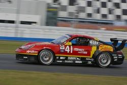 La Porsche GT3 Cup n°41 du Team Sahlen : Joe Sahlen, Will Nonnamaker, Wayne Nonnamaker,Joe Nonnamaker