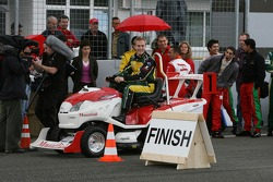 Journée des RP, Mountfield Cup on Tractors : Karl Reindler