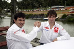 Sébastien Loeb with Daniel Elena