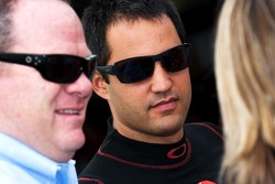 Chip Ganassi and Juan Pablo Montoya