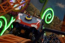 Cosmos World Theme Park, Kuala Lumpur: rollercoaster
