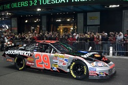 Kevin Harvick in the streets of New York for the Victory Lap