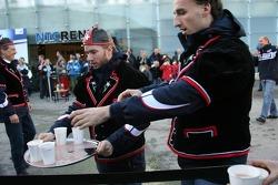 Nick Heidfeld and Robert Kubica