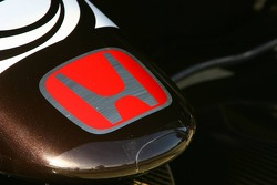 Detail of the Honda Racing F1 Team interim chassis