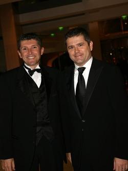 Nick Fry, CEO Honda Racing F1 and Gil de Ferran Sporting Director Honda Racing F1
