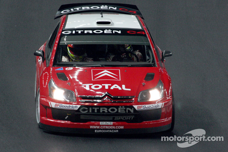 Sébastien Loeb drives the new Citroën C4 WRC