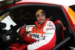 Team Repsol Mitsubishi Ralliart test in France: Nani Roma