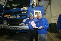 Jan de Rooy and Dany Colebunders