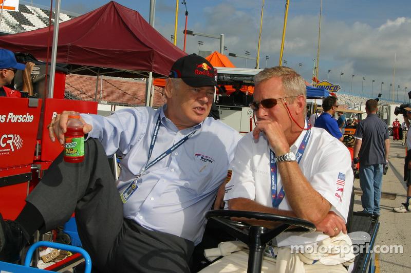 Bob Snodgrass and Hurley Haywood