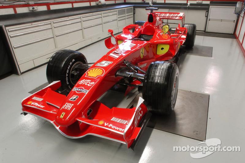 Previa del nuevo Ferrari F2007 en la sede de Ferrari en Maranello
