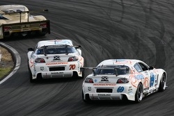 #70 SpeedSource Mazda RX-8: David Haskell, Sylvain Tremblay, Nick Ham, Randy Pobst, #68 TRG Porsche GT3 Cup: Ted Ballou, Rocco DeSimone II, Brad Jaeger, Chris Gleason