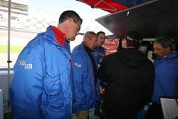 Hurley Haywood, JC France, Joao Barbosa and Roberto Moreno