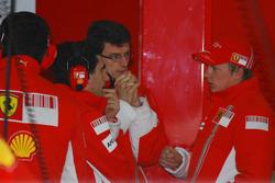 Kimi Raikkonen and Chris Dyer