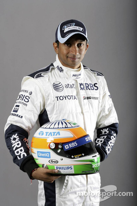 Narain Karthikeyan, Williams F1 Team