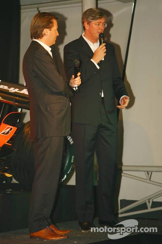 Michiel Mol; Victor Muller, Spyker-Ferrari