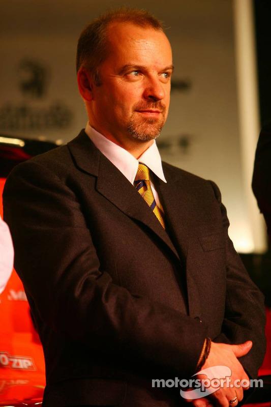Technikchef Mike Gascoyne, Spyker-Ferrari