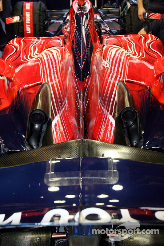 Der neue Scuderia Toro Rosso STR2