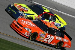 Tony Stewart and Kyle Busch