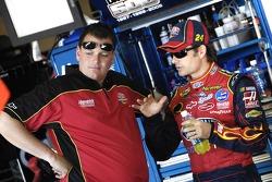 Jeff Gordon with crew chief Steve Letarte