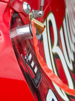 Detail of the Bud Chevy